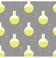 Test tube glassware Chemistry pattern vector