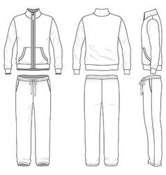 Gym suit vector
