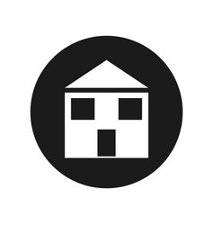 House real estate symbol vector