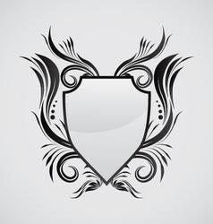 Shield Ornamental vector image