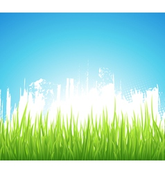 Green Spring Background vector image vector image