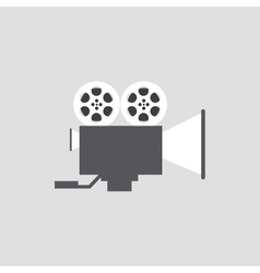 Abstract Cinema object vector image