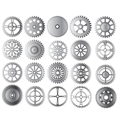 Gears collection vector