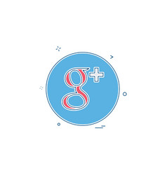Media network social gmail icon vector