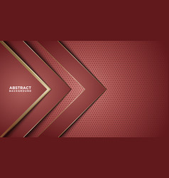 red abstract background overlap layers vector image