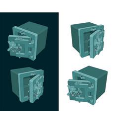 safe color vector image