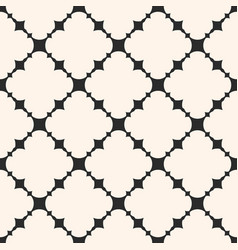 Seamless pattern abstract monochrome mesh texture vector