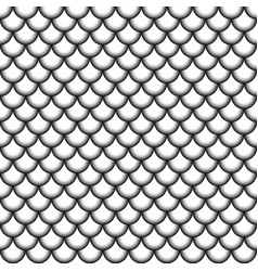 seamless pattern fish scales asian style vector image