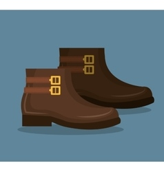 Shoes for woman design vector image