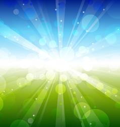 summer - blur vector image