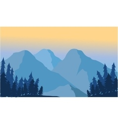 View of the mountain ice vector image