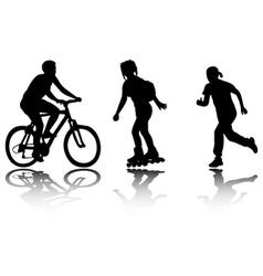 recreation vector image
