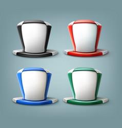hat of fan vector image