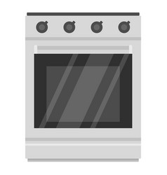modern gas oven icon cartoon style vector image vector image