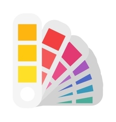 Layout color samples to determine preferences in vector image