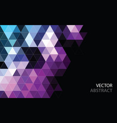 abstract polygonal mosaic background low poly vector image