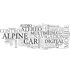 alpine adventure tours text word cloud concept vector image