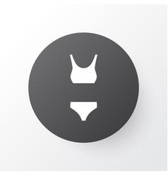 bikini icon symbol premium quality isolated vector image