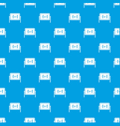 board pattern seamless blue vector image