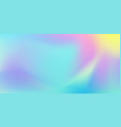 iridescent color blend background abstract liquid vector image