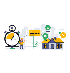 online food delivery service to your home vector image