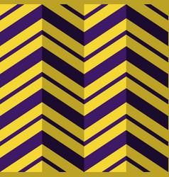 Seamless pattern purple yellow zig zag background vector