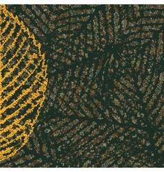 Skeleton leaves background vector