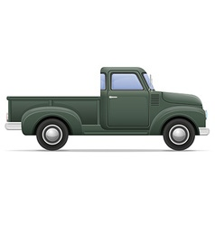 car pickup 01 vector image vector image