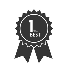 Award ribbon 1 the best icon graphic vector