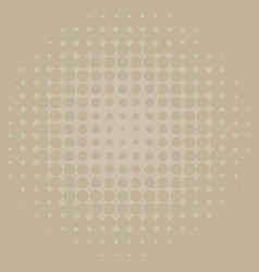 Background template design with brown dots vector