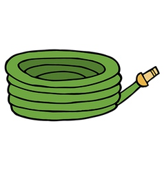 Cartoon hose vector image