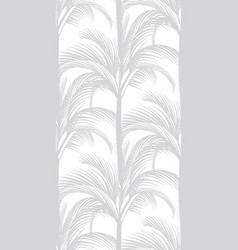 delicate tropical pattern on a white background vector image