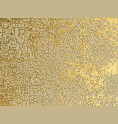 Gold marbling grunge texture design for poster vector