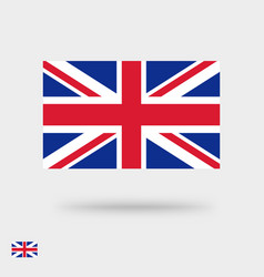 great britain flag icon or united kingdom vector image