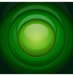 Green metal round shapes vector image