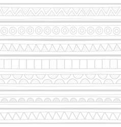 Hand drawn seamless background1 vector image