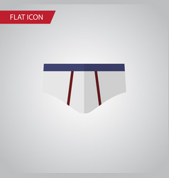 isolated underwear flat icon underclothes vector image