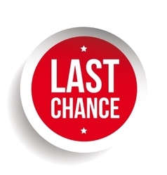 Last Chance round label vector