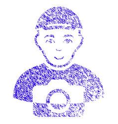 Paparazzi icon grunge watermark vector