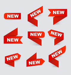 Sign New New signs Isolated vector image