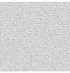 Three-dimensional design from white blocks eps 8 vector