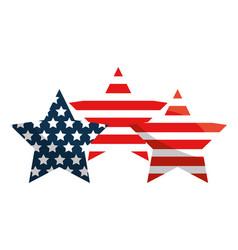 United states stars design vector