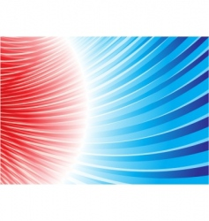 magnetic storm vector image vector image