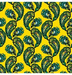 peacock seamless 1 380 vector image vector image