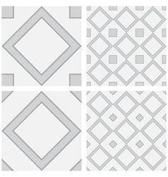 Square Surface as Seamless Background vector image