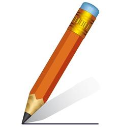 Short pencil vector image vector image