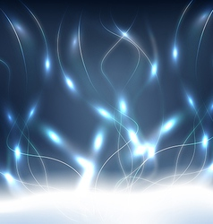 Blue Energy Background vector image