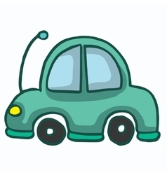 Car funny style design for kids vector