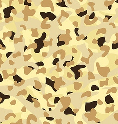 Desert disruptive camouflage seamless pattern vector