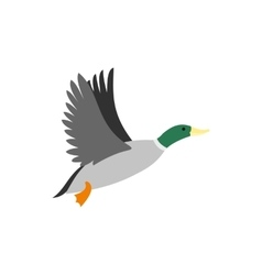 Duck icon flat style vector image